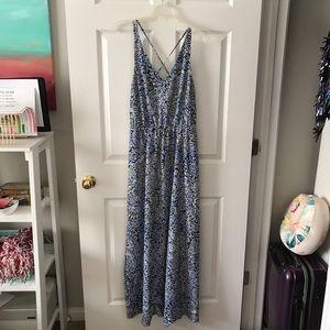 Mediterranean Maxi Dress
